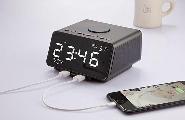 15 Best Bluetooth Speakers With Alarm Clocks Reviews Red Diamond Audio